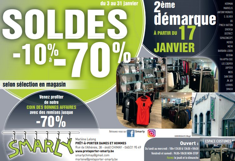 Soldes janvier 2020 | Smarly